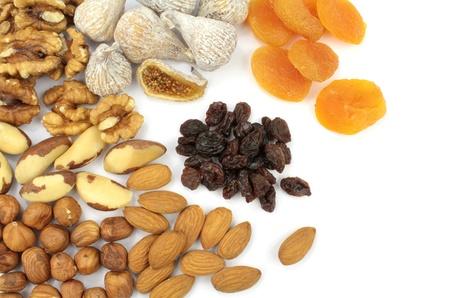 legumbres secas: Varias tuercas y frutas secas
