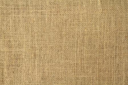 黄麻布のテクスチャ背景 写真素材
