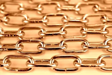 durable: Closeup metal chain