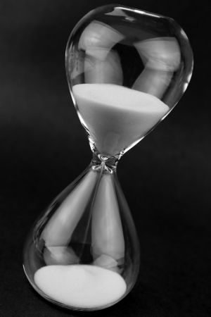 history background: Hourglass