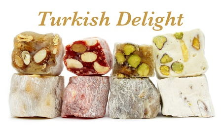 turkish delight: Delicious Turkish delight