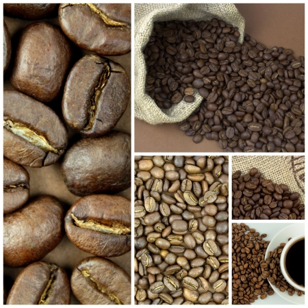 close up image: Coffee beans ,close up image