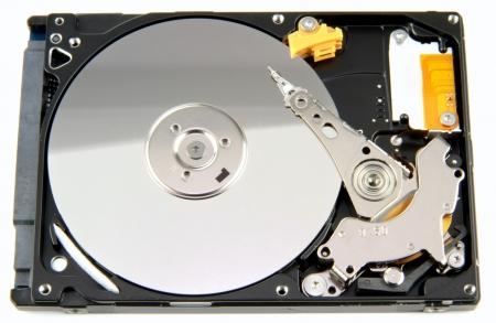 harddisk: Harddisk isolated on background