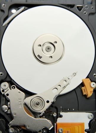 Harddisk isolated on white background   photo