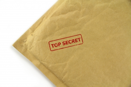Top secret mail photo