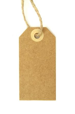 papier naturel: ?tiquette en papier naturel vierge