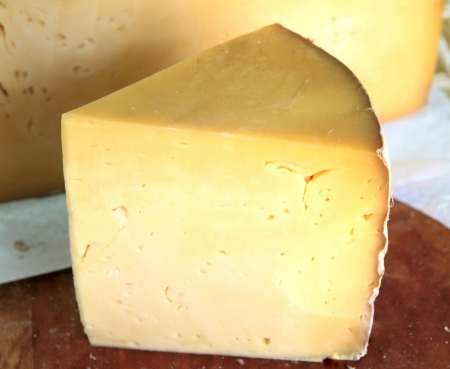 Old cheese,close up image Stock Photo