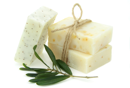 Natural vegetal soap