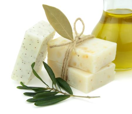 daphne: Jab�n natural con aceite de oliva, Daphne y semillas de amapola