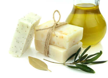 daphne: Natural soap with olive oil, daphne and poppy seeds