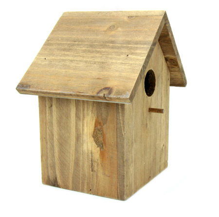 Wooden birdhouse  photo