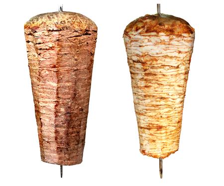 pinchos morunos: Turco doner kebab Foto de archivo