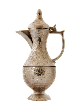 Turkish ottoman style metal pitcher  photo