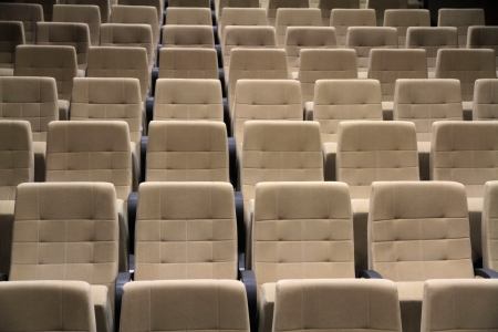 Cinema or theater seats  photo