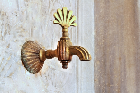 Turkish ottoman style water tap  photo