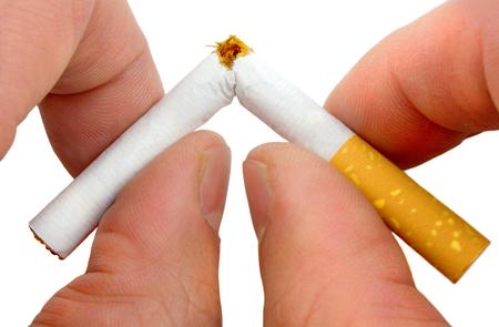Stop smoking now 写真素材