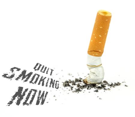 quit smoking: Quit smoking now