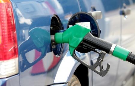 benzin: Gas pump