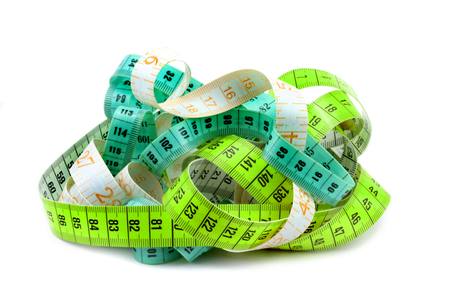 made to measure: Various entangled measuring tape