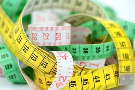 made to measure: Tape measure  Stock Photo