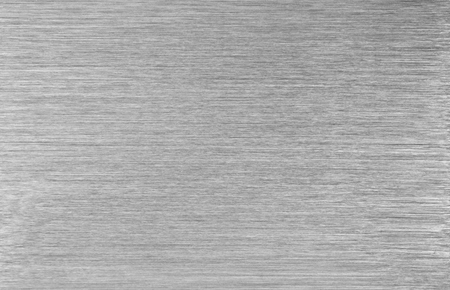 aluminium wallpaper: Brushed steel metal texture ,close up image Stock Photo