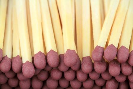 close up image: Matchstick close up image