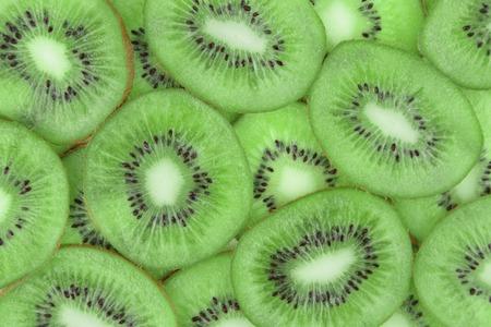 kiwi fruta: El kiwi, de cerca la imagen