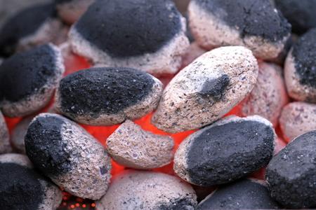 briquettes: Charcoal briquettes