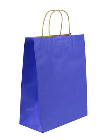 白い背景で隔離のショッピング バッグ