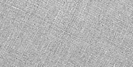 Grey Linen Fabric Texture As Background Stock Photo
