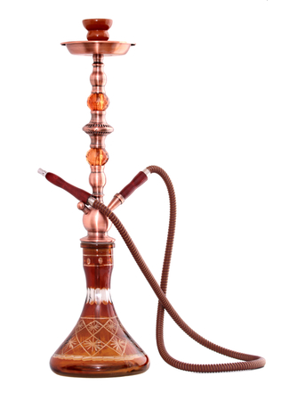 Hookah ( Water pipe ) isolated on a white background