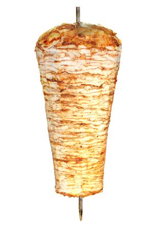 pinchos morunos: Turkish doner kebab de pollo