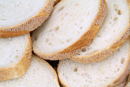 pone: Wheat bread slices