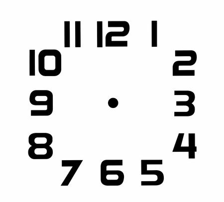 Clock face blank Фото со стока - 37895961