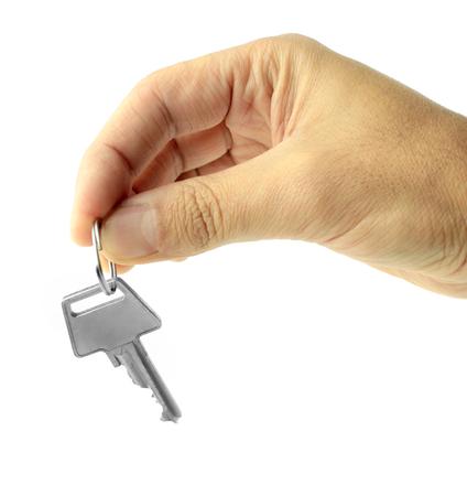handing over: Handing over key