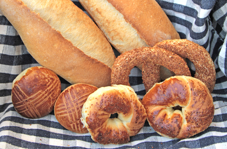 bagels: Turkish bagels and breads.