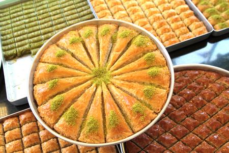 comida arabe: Delicioso dulce turco, baklava