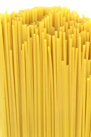 pasta: Espaguetis. Macro imagen.