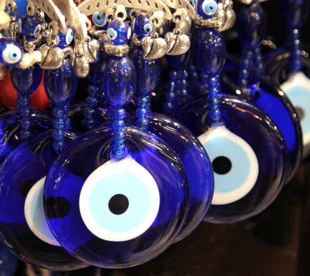 superstition: Turkish superstition evil eye beads,  Nazar beads