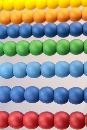 abaco: cuentas del �baco colorido