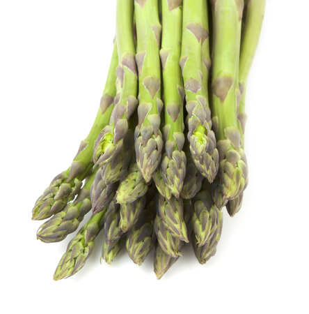 Asparagus on white background Stockfoto