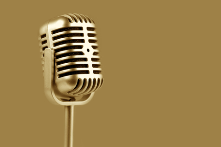 voices: Retro microphone