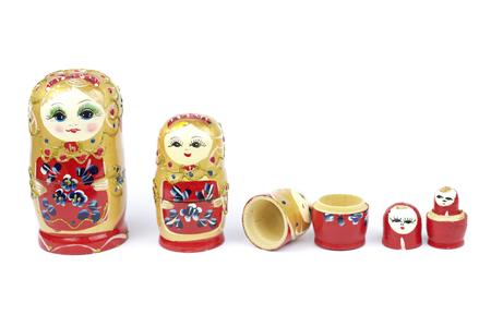 Russian Traditional Dolls Matrioshka - Matryoshka  or Babushka