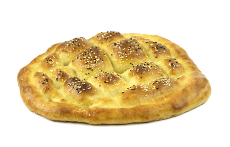 Traditional Turkish ramadan pita bread