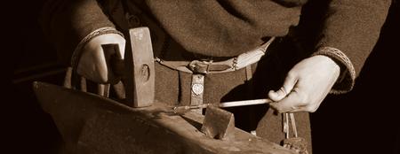 Traditional style blacksmith