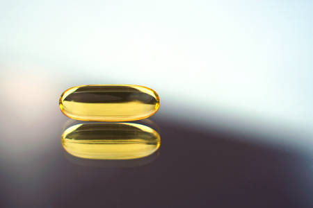 Fish oil capsule, omega 3