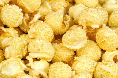 Caramelized Popcorn .