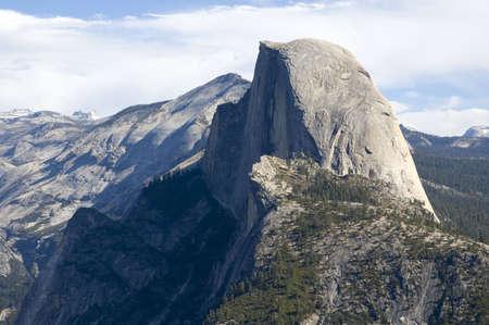 half dome: View of Half Dome in Yosemite National Park, California