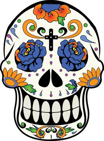 Calverita ・ デ ・ Azucar、死んだ砂糖 calaverita の日のメキシコの伝統