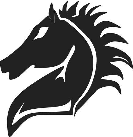 馬のシルエット